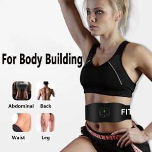 Abdominal Belt Muscle Stimulator Trainer LCD Displ